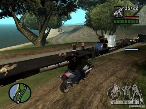 Great Theft Car V1.1 para GTA San Andreas sexta tela