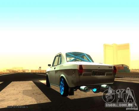 Gaz Volga 2410 Drift Edition para GTA San Andreas traseira esquerda vista