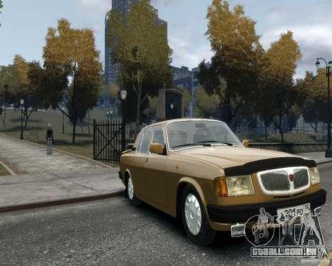 Volga GAZ 3110 para GTA 4 traseira esquerda vista
