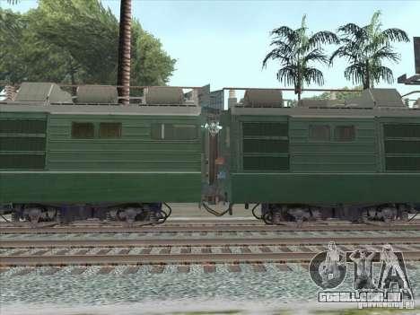 VL80K-548 para GTA San Andreas traseira esquerda vista