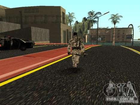 Vingador do Ártico para GTA San Andreas terceira tela