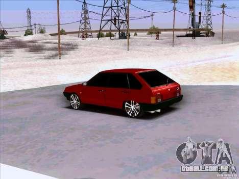 VAZ 2109 para GTA San Andreas esquerda vista