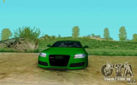 Audi RS6 OTIS para GTA San Andreas vista direita
