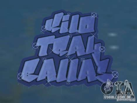 New LS gang tags para GTA San Andreas por diante tela