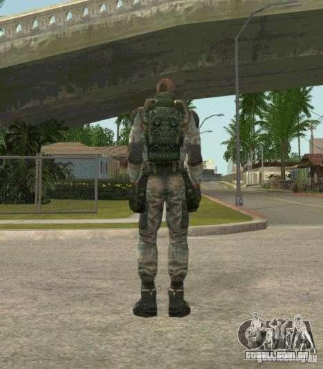 Lebedev de STALKER clear sky para GTA San Andreas terceira tela