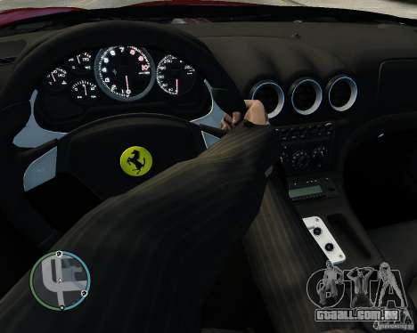 Ferrari 575M Maranello 2002 para GTA 4 vista lateral
