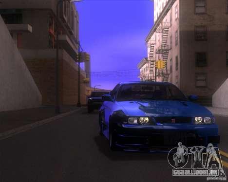 ENBSeries by LeRxaR v4.0 para GTA San Andreas por diante tela