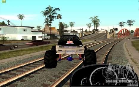 Jetta Monster Truck para GTA San Andreas vista direita