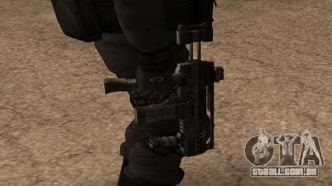 Turcotte Rapid SMG para GTA San Andreas terceira tela