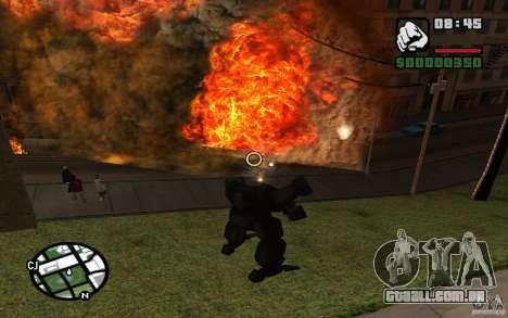 Exoesqueleto para GTA San Andreas sétima tela