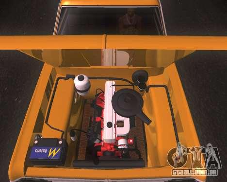 Chevrolet Opala Gran Luxo para GTA San Andreas traseira esquerda vista