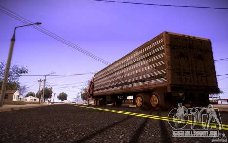 Box Trailer para GTA San Andreas