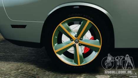 Dodge Challenger SRT8 2009 [EPM] para GTA 4 interior