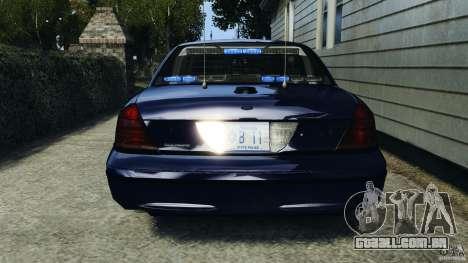 Ford Crown Victoria Police Unit [ELS] para GTA 4 motor