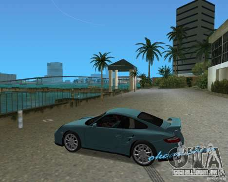 Porsche 911 GT2 para GTA Vice City vista direita