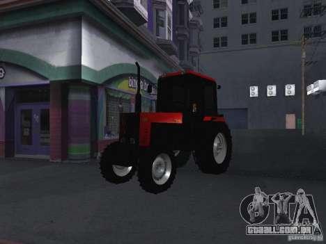 Trator MTF 1025 para GTA San Andreas