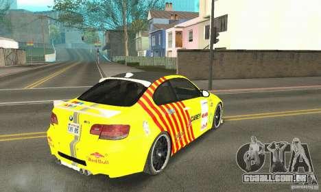 BMW M3 2008 Hamann v1.2 para o motor de GTA San Andreas