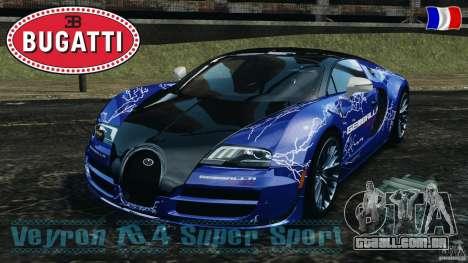 Bugatti Veyron 16.4 Super Sport 2011 v1.0 [EPM] para GTA 4