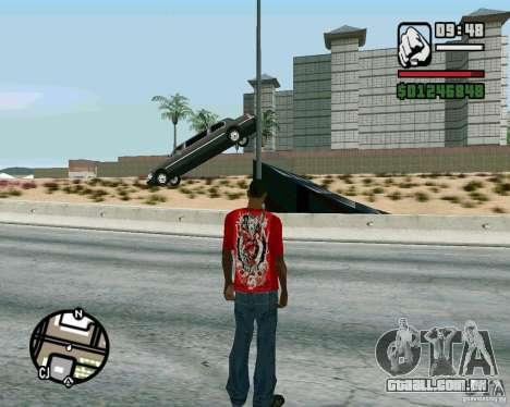 Saltos na auto-estrada em Las Venturase para GTA San Andreas segunda tela
