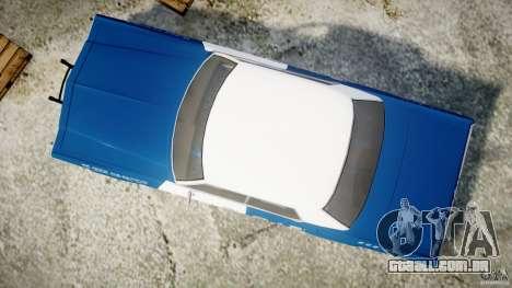Dodge Monaco 1974 (bluesmobile) para GTA 4 vista direita