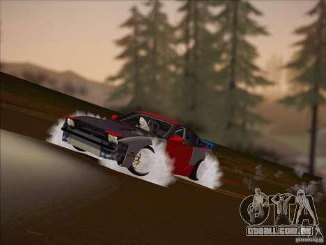 Nissan RPS13 Drift Korch para GTA San Andreas traseira esquerda vista