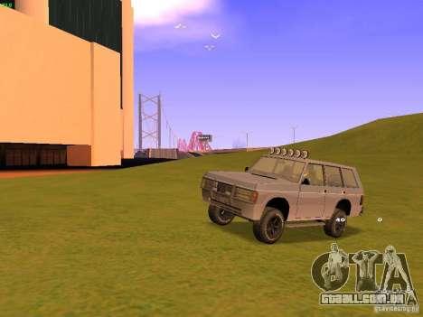 Huntley Superior para as rodas de GTA San Andreas
