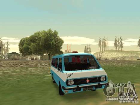 RAF 2203 CR v. 2 para GTA San Andreas vista interior