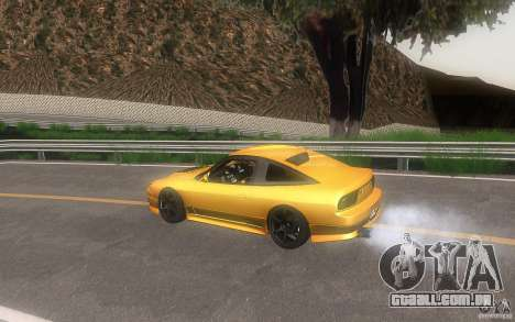 Nissan 180sx v2 para vista lateral GTA San Andreas