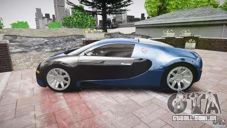 Bugatti Veyron 16.4 v3.0 2005 [EPM] Strasbourg para GTA 4 vista interior