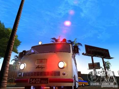 RAPH-977IM emergência para GTA San Andreas vista traseira
