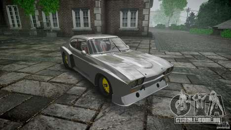 Ford Capri RS 1974 para GTA 4 vista interior