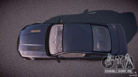 Saleen S281 Extreme Unmarked Police Car - v1.1 para GTA 4 vista direita
