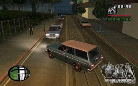 Luzes traseiras universais para GTA San Andreas segunda tela