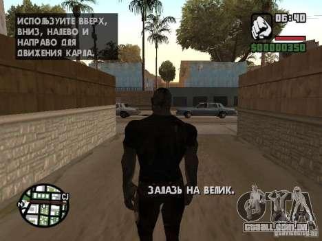 Zombe from Gothic para GTA San Andreas sétima tela