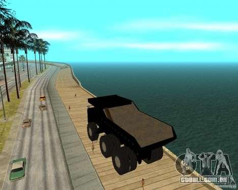 Dumper para GTA San Andreas esquerda vista