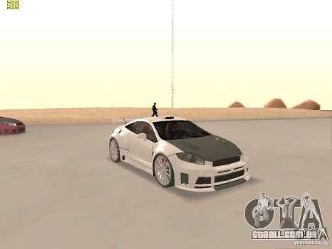 Mitsubishi Eclipse GT NFS-MW para GTA San Andreas vista superior