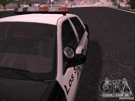 Ford Crown Victoria Police 2003 para GTA San Andreas vista traseira
