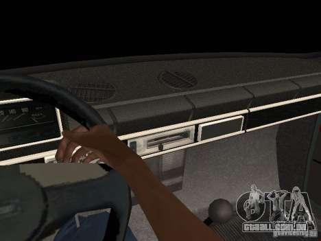 VAZ 21011 para GTA San Andreas vista superior