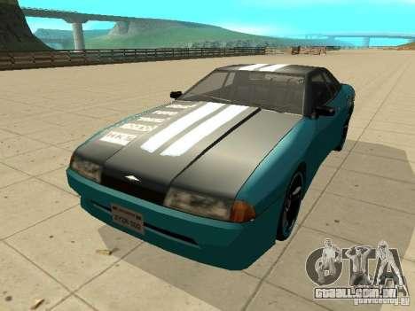 Elegy Forsage para GTA San Andreas esquerda vista