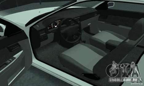 Lada Priora Coupe para GTA San Andreas vista direita