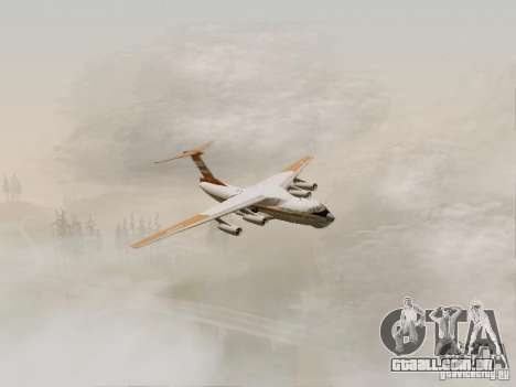 Ilyushin Il-76td para GTA San Andreas vista direita