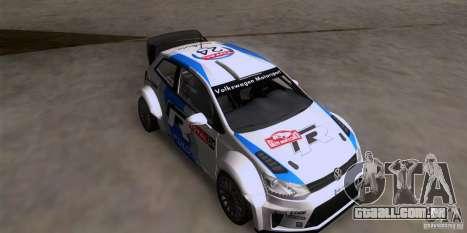 Volkswagen Polo WRC para GTA San Andreas
