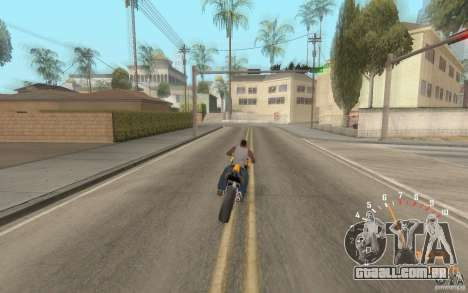 Digital speedometer and tachometer para GTA San Andreas por diante tela