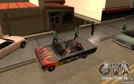 Brigada versão 2.0 para GTA San Andreas segunda tela