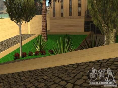 Novo hospital LAN para GTA San Andreas por diante tela