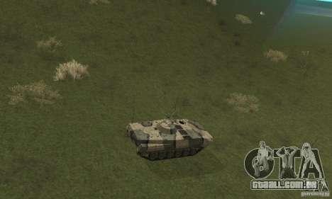 BMP-1 Camo para GTA San Andreas vista traseira