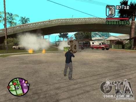 Vaso sanitário para GTA San Andreas terceira tela