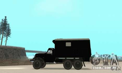 ZIL 157 para GTA San Andreas vista direita