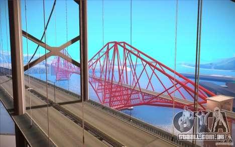 ENBSeries for SA-MP para GTA San Andreas segunda tela