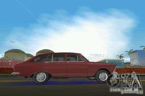 Kombi IZH-2125 para GTA Vice City deixou vista